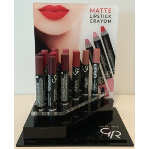 Matte Crayon Lipstick Display incl Stock