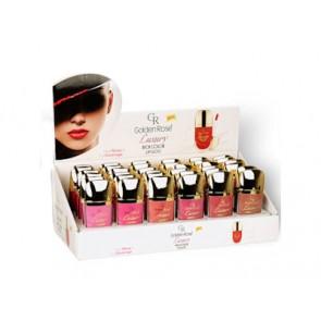 Luxury Rich Color Lipgloss vacuum displ