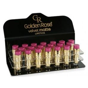 Velvet Matte Lipstick display